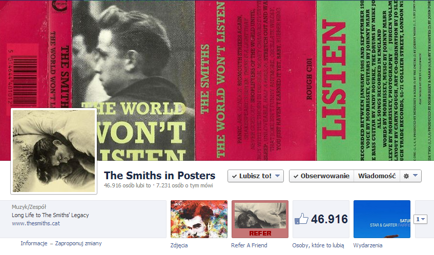 the smiths in posters