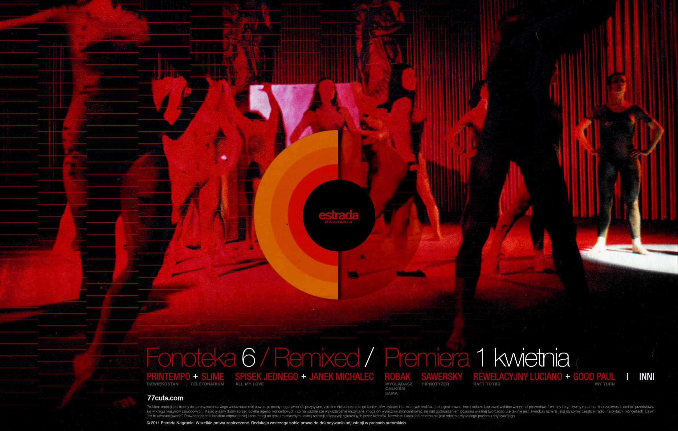 fonoteka 6 remixy zaproszenie