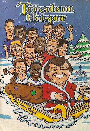 tottenham christmas 1988