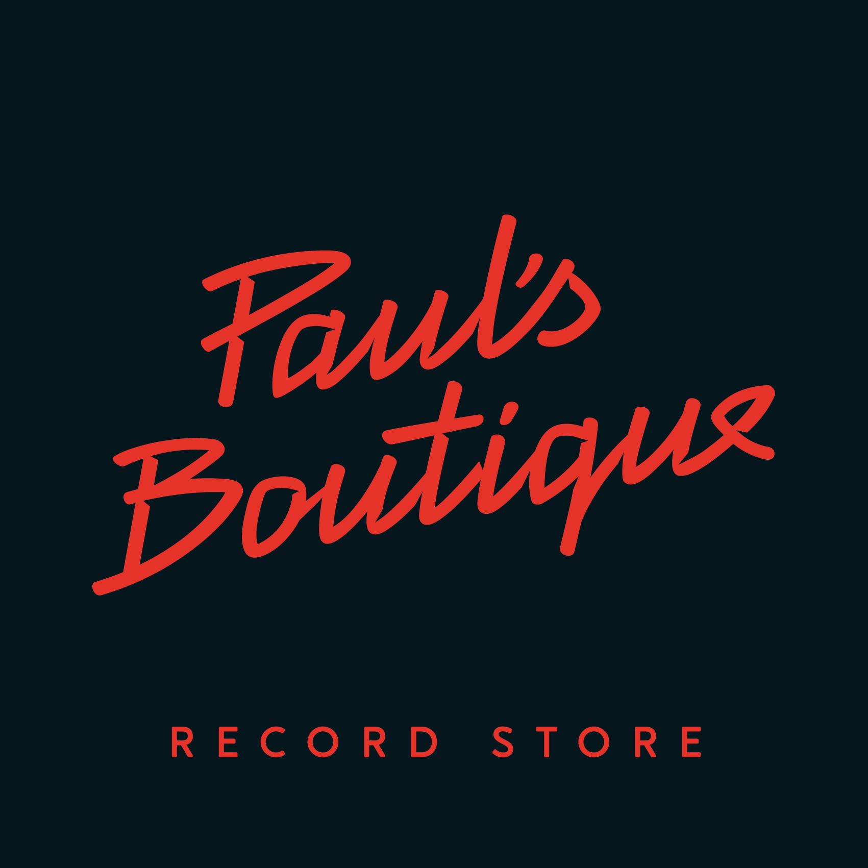 Paul's Boutique Record Store logo