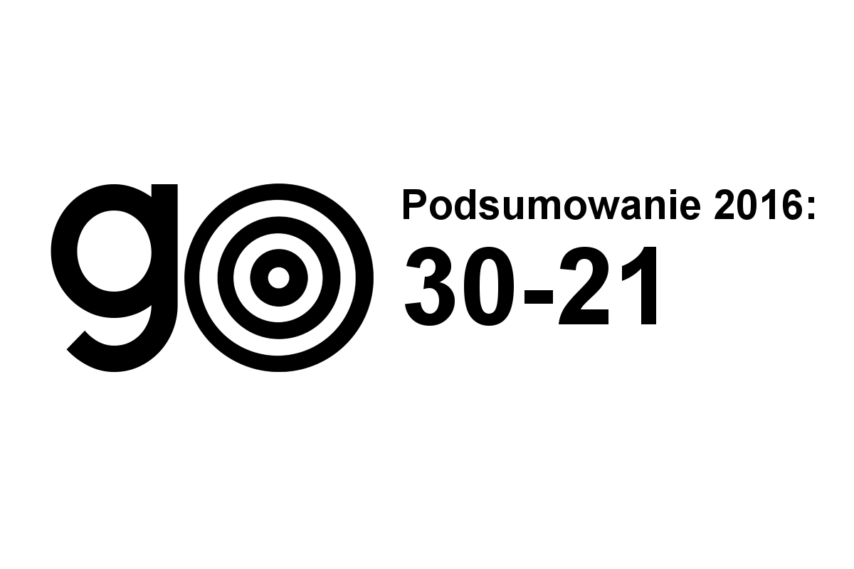 Podsumowanie 2016: 30-21