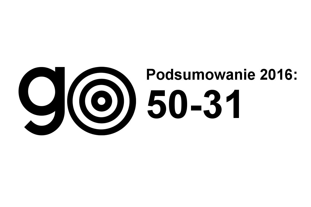 Podsumowanie 2016: 50-31