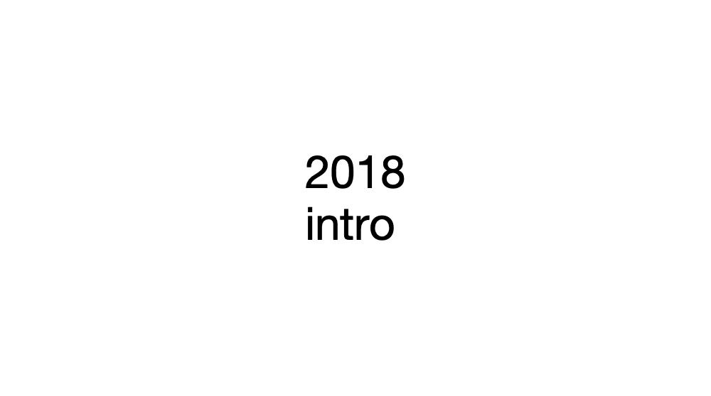 Podsumowanie 2018 roku: intro